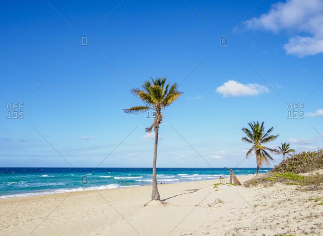 Santa Maria del Mar Beach, Habana del Este, Havana, La Habana Province, Cuba, West Indies, Central America