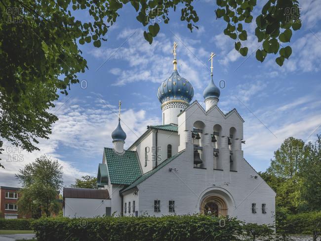 Germany- Hamburg- Russian Orthodox Church of St. Procopius
