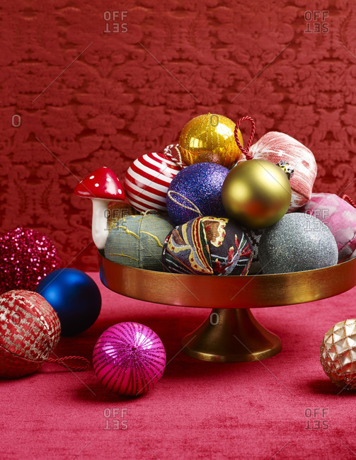 Christmas balls, christmas decoration, atmospheric