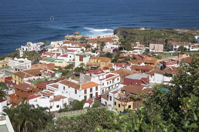 View of san Juan de la rambla, tenerife, canary islands, Spain