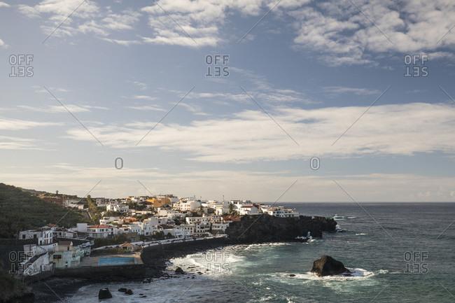 View of las aguas on the north coast, atlantic ocean, tenerife, canary islands, Spain