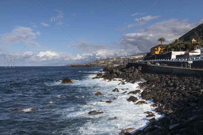 Coast at garachico, tenerife, canary islands, Spain