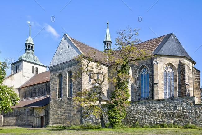 Monastery church, st. marienberg monastery, helmstedt, lower saxony, Germany, Europe