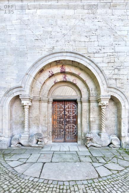 Kaiserdom, stiftskirche, spring, koenigslutter am elm, lower saxony, Germany, Europe