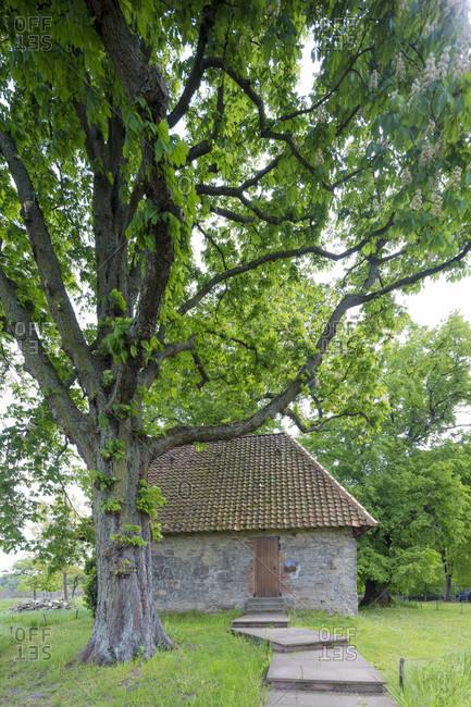 Riddagshausen monastery, siechenkapelle, architecture, house facade, braunschweig, lower saxony, Germany, Europe