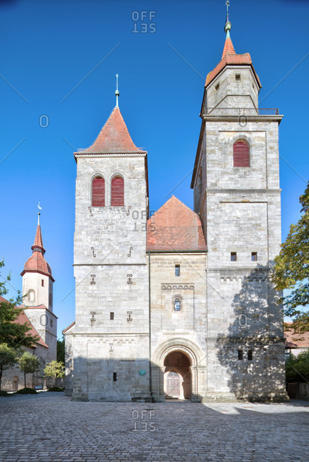 Johanniskirche, stiftskirche, feuchtwangen, middle franconia, franconia, Bavaria, Germany, Europe