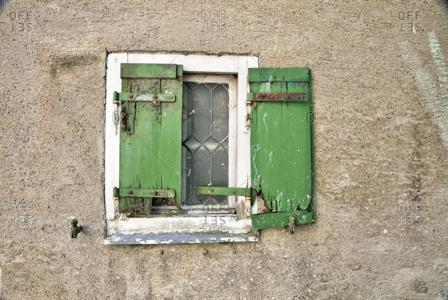 Old town, house facade, window, shutter, architecture, harburg, swabia, Bavaria, Germany