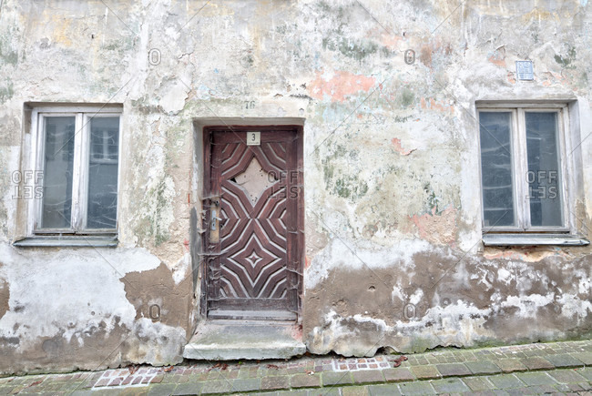 Old town, house facade, architecture, harburg, swabia, Bavaria, Germany
