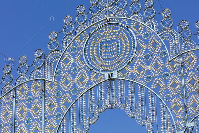 Decoration, feria del caballo, festival, traditional costume, tradition, culture, customs, jerez de la frontera, andalusia, Spain, Europe