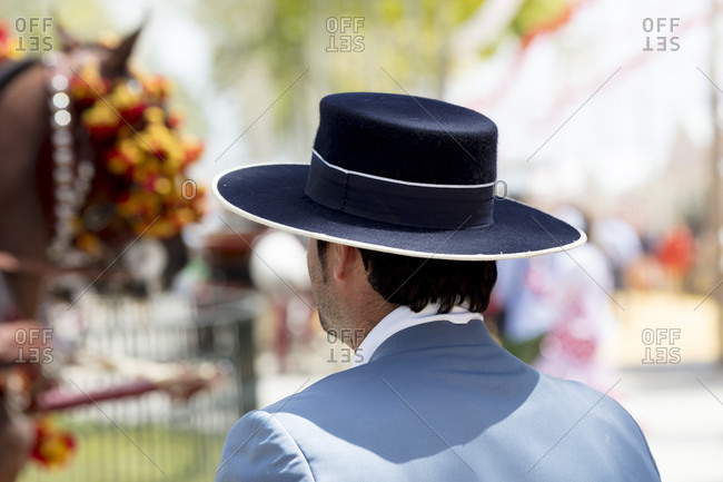 La feria de primavera, traditional costume, festival, tradition, culture, customs, el Puerto de Santa maria, andalusia, Spain, Europe