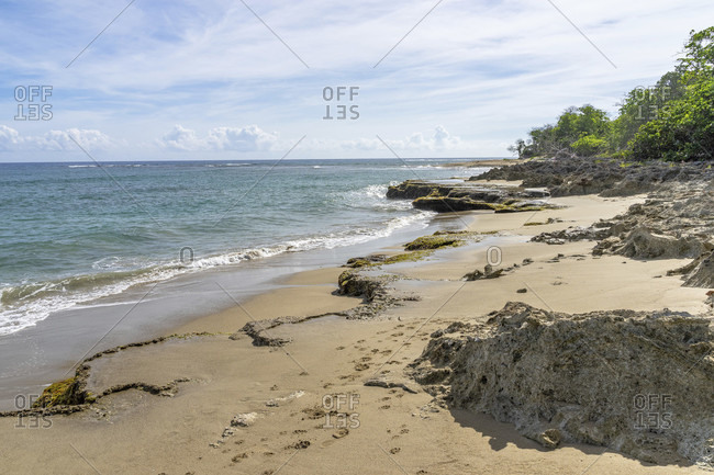 America, caribbean, greater antilles, dominican republic, cabarete, beach near the natura cabana boutique hotel & spa