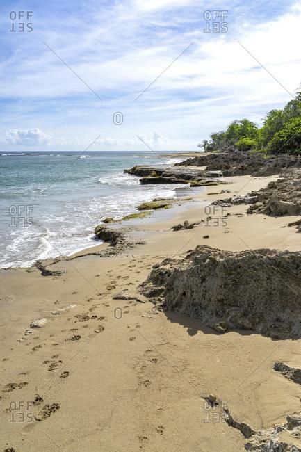 America, caribbean, greater antilles, dominican republic, cabarete, beach near the natura cabana boutique hotel & spa