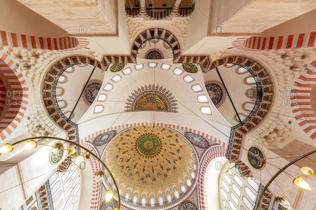 September 23, 2019: beyazıt mosque, istanbul