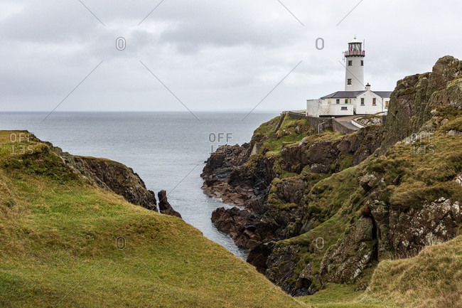 Fanad head lighthouse, county donegal, ulster province, republic of ireland