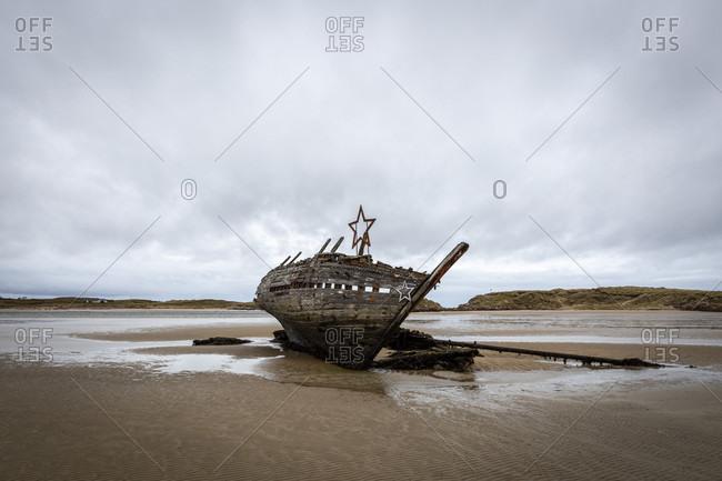 Cara na mara, eddies boat, county donegal, ulster province, republic of ireland
