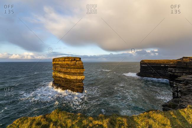Dun briste, downpatrick head, county mayo, connacht province, republic of ireland