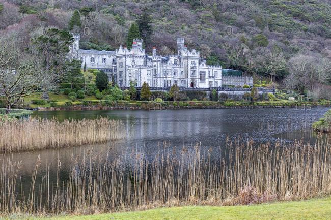 Kylemore abbey, connemara, county galway, connacht province, republic of ireland
