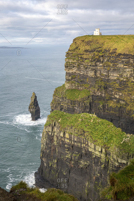Cliffs of moher, cliffs, county clare, munster province, republic of ireland