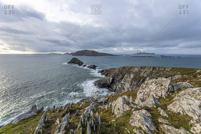 Dunmore head, dingle peninsula, county kerry, munster province, republic of ireland