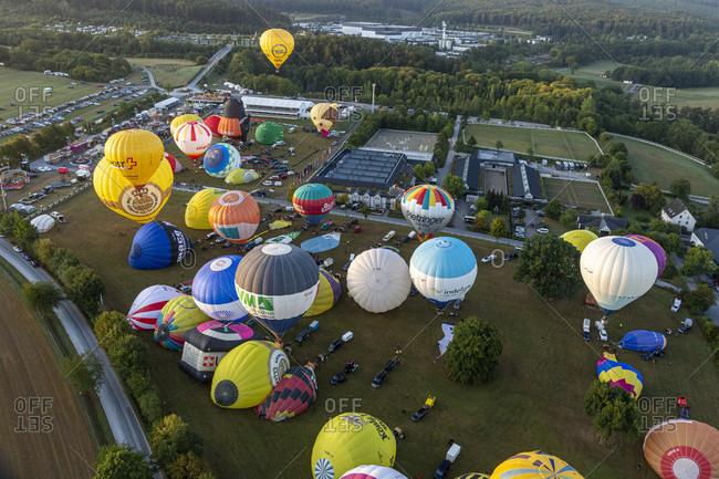 September 6, 2019: warsteiner internationale montgolfiade, warstein, sauerland