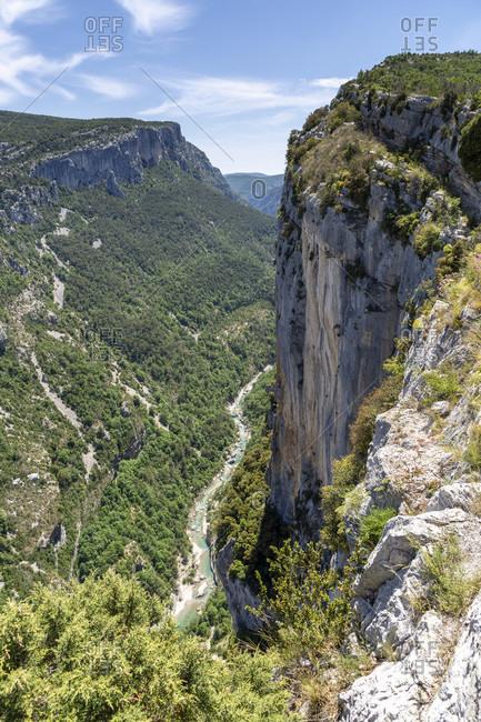 Verdon Gorge, Gorges du Verdon, Grand Canyon du Verdon, French Provence, Alpes-de-Haute-Provence, France