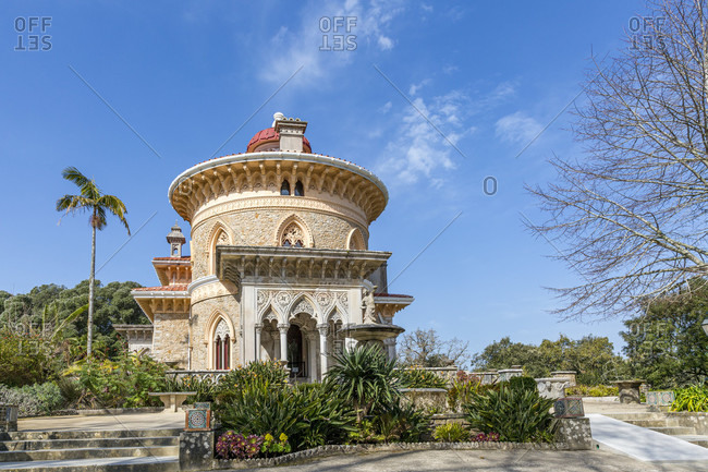 The Palacio de Monserrate is a villa in the Portuguese town of Sintra.