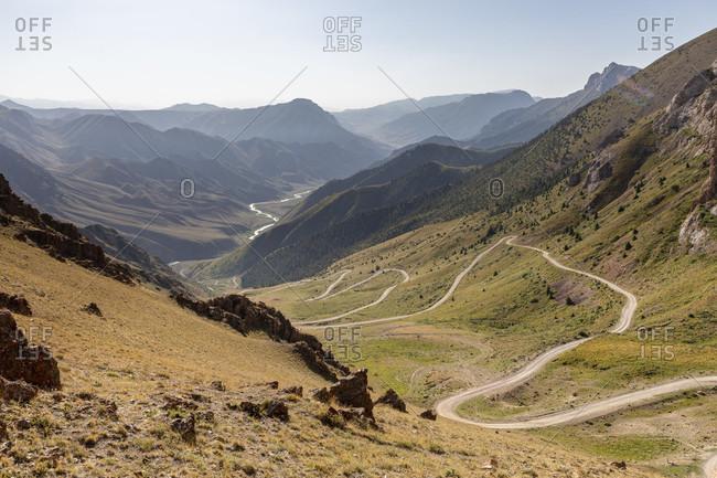 Teskey Torpok Pass, Pereval Teskeytorpo, 33 Parrots Pass, Kyrgyzstan