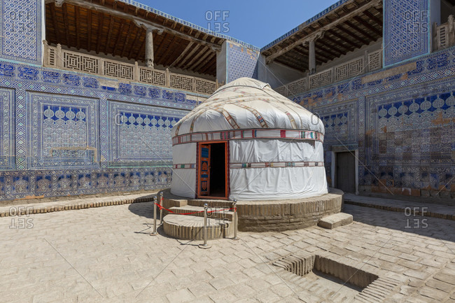 Tash Hauli Palace, Chiva, Uzbekistan