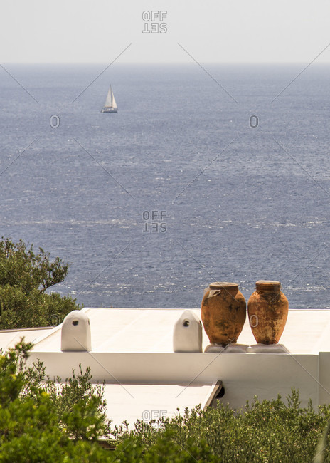 Sicily - Sunny impressions of the Aeolian Islands, also known as Aeolian Islands or Isole Eolie: Lipari, Stromboli, Salina, Vulcano, Panarea, Filicudi and Alicudi.