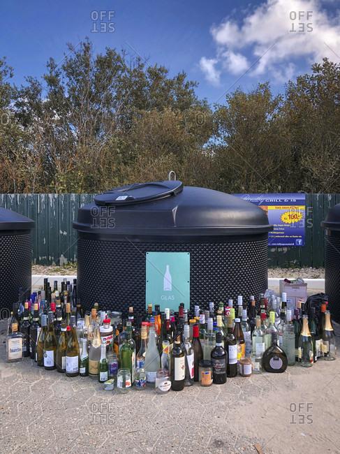 September 14, 2019: Waste, waste management, everyday life, waste separation