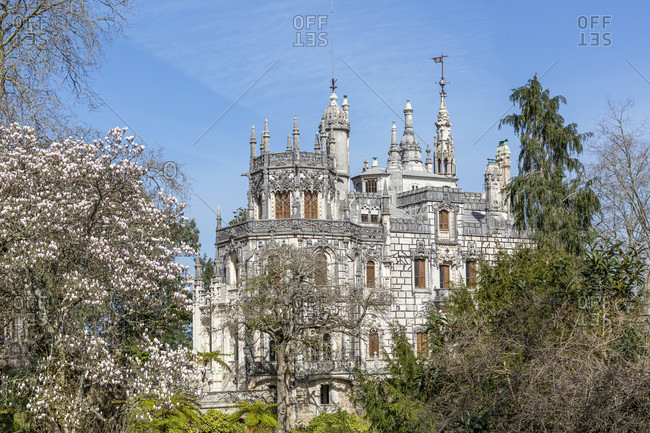 Quinta da Regaleira is an estate near the historic center of Sintra in Portugal