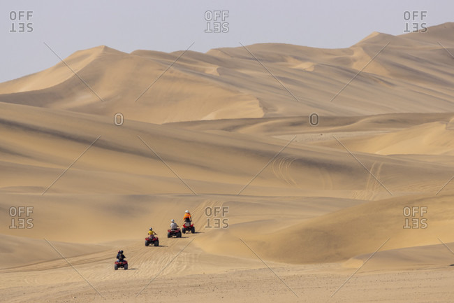 Quad bike tour, Swakopmund, Namib-Naukluft National Park, Namibia