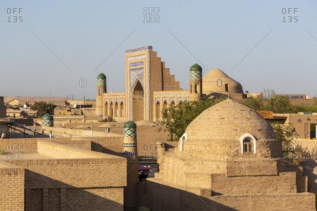 Old town in Chiva, Uzbekistan