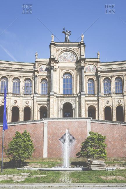 May 24, 2019: Maximilianeum, Bavarian State Parliament, Munich, Bavaria