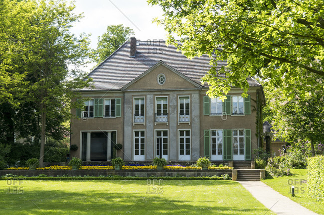 May 15, 2020: Berlin, Wannsee, Liebermann Villa, lake side