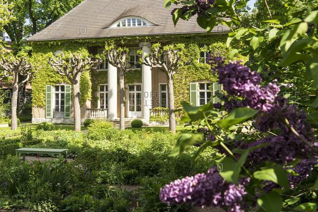 May 15, 2020: Berlin, Wannsee, Liebermann Villa, garden