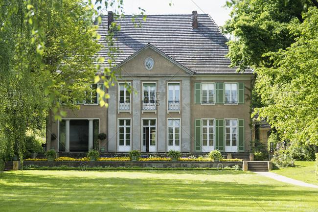 May 15, 2020: Berlin, Wannsee, Liebermann Villa in spring