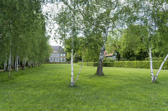 May 15, 2020: Berlin, Wannsee, lake side of the Liebermann Villa