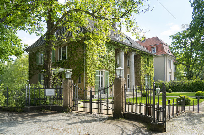 May 15, 2020: Berlin, Wannsee, former villa of the painter Max Liebermann, museum