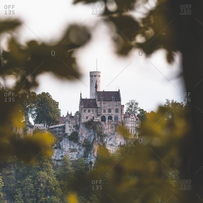 Lichtenstein Castle, Lichtenstein, Swabian Jura, Baden-Wurttemberg, Germany, Europe