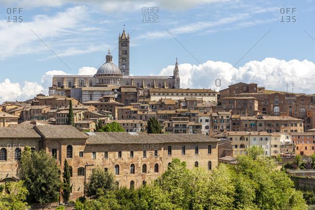 Landscape of Siena, Tuscany, Italy