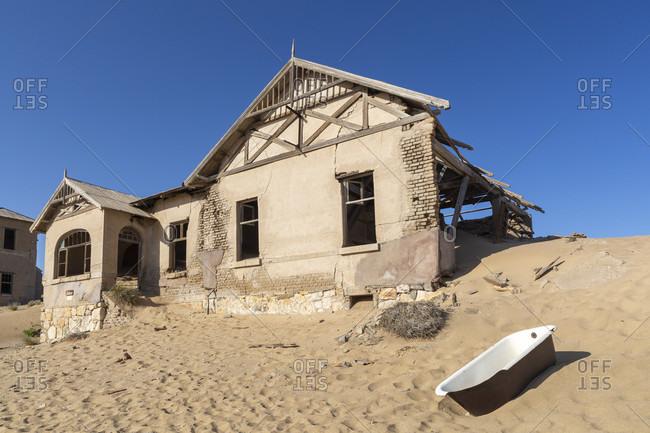 Kolmanskop ghost town in Kolmanskop