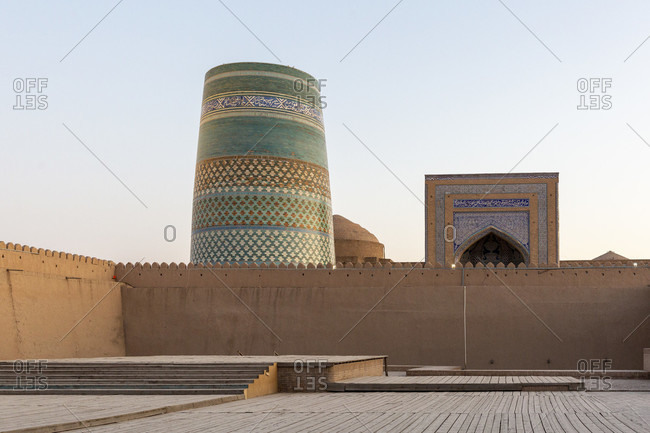 Kelte Minar in Chiva, Uzbekistan