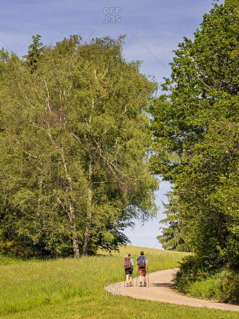 June 1, 2019: Hiking on the Zwealersteig, Landwassereck