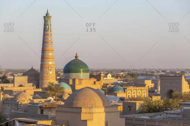 Islam Khodja minaret, Chiva, Uzbekistan