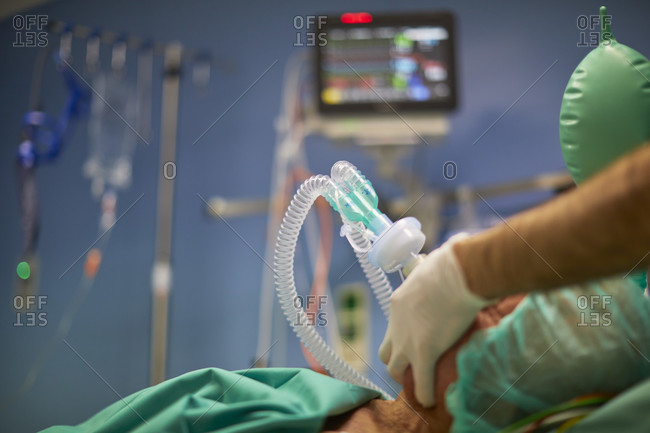Induction of anesthesia, mask ventilation