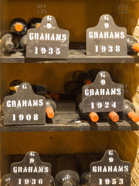 February 16, 2019: Graham's Port Lodge and Winery, Vila Nova de Gaia, Porto