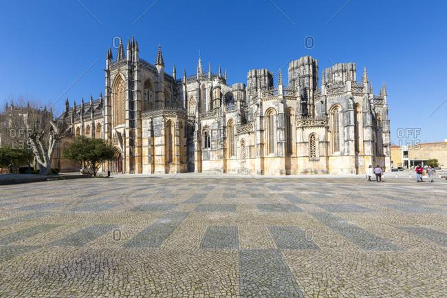 February 13, 2019: Mosteiro de Santa Maria da Vit�ria, Gothic monastery, Batalha