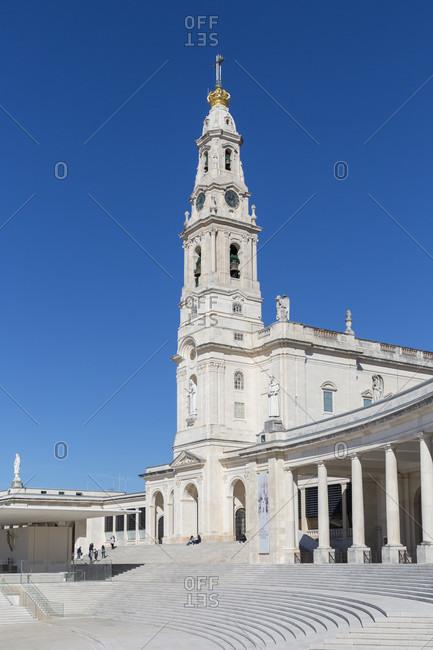 February 12, 2019: Sanctuary of Fatima, a Catholic sanctuary, Fatima, Central Portugal, Estremadura