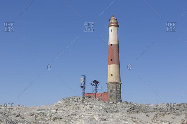 Diaz Point lighthouse, Swartberge, Luderitz peninsula